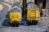 37304 + 37306 + 37507 Cardiff Canton 10 June 1986