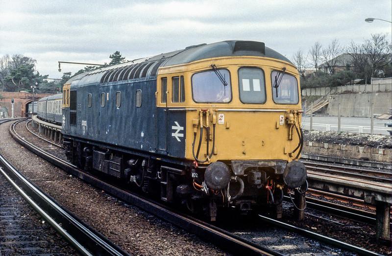 33102 Bournemouth 30 January 1982