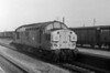 37076 runs light engine through Severn Tunnel Jn on its way to pick up a steel train on 22 August 1983