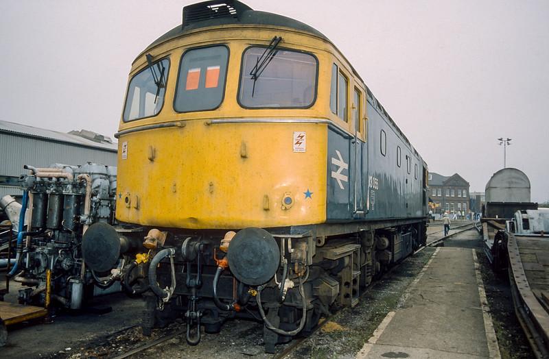 33055 Eastleigh Works 12 October 1986