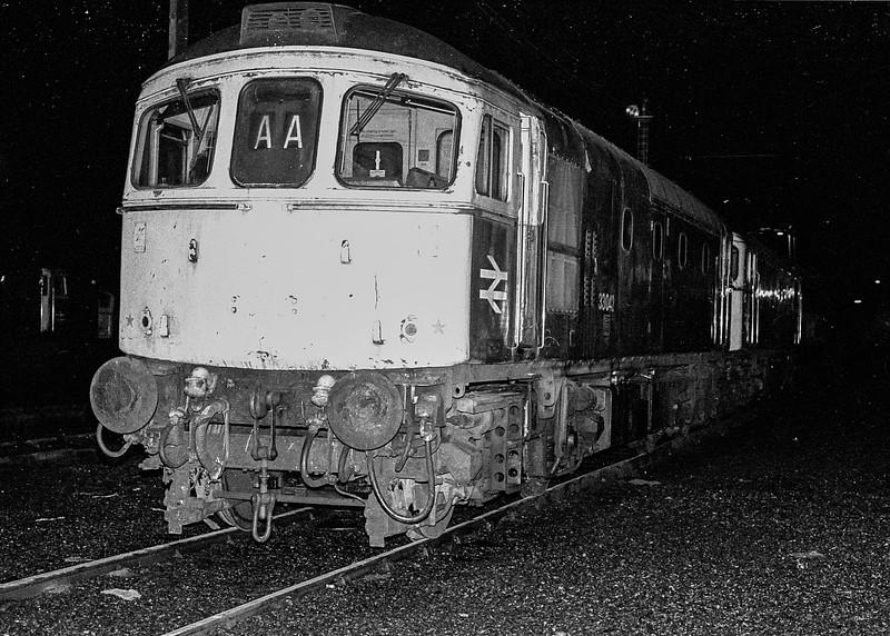 33042 Eastleigh 3 November 1986