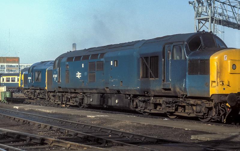 37267 + 37066 BristolBathRoad 19 February 1985