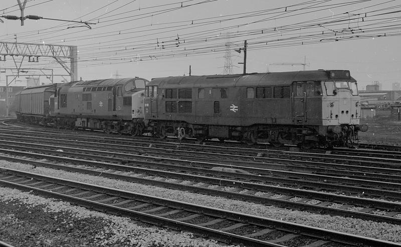 31181 + 37006 Stratford 1 March 1984
