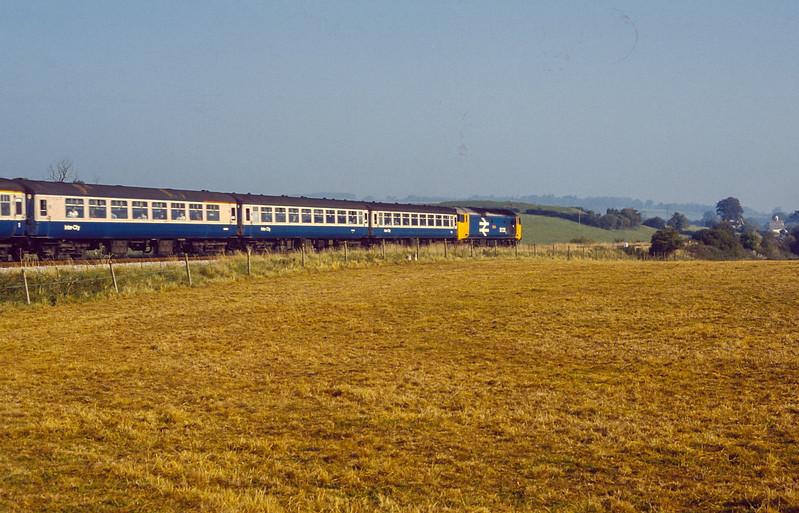 50020 Milborne Wick 4 October 1986