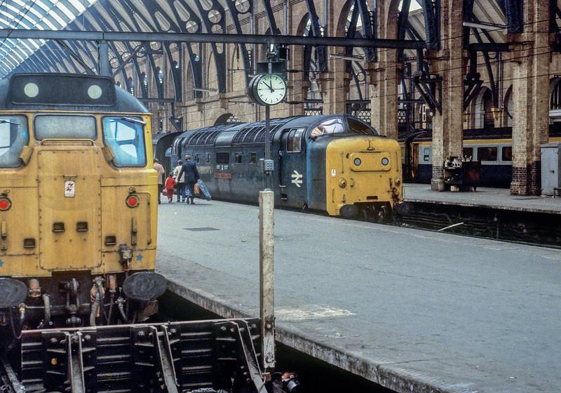 55016 Kings Cross 16 April 1981