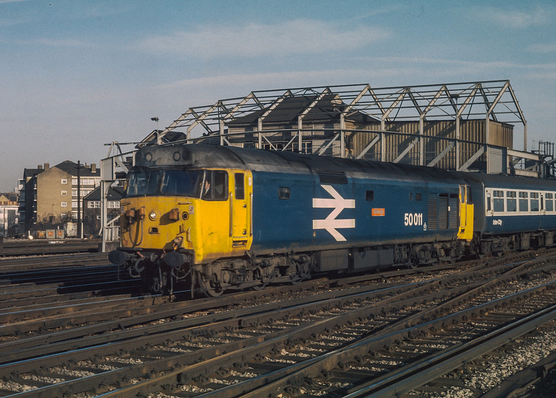 50011 Clapham Junction 23 January 1986