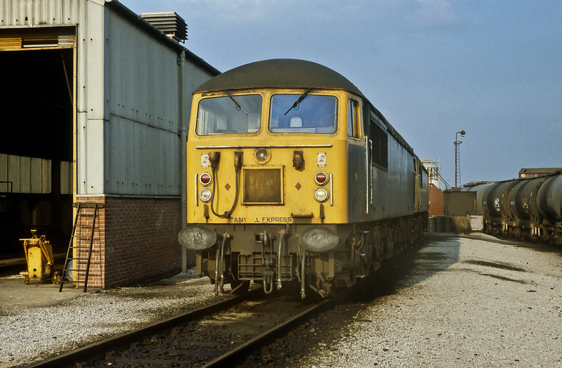 56069 is stabled at Nottingham on 22 July 1984