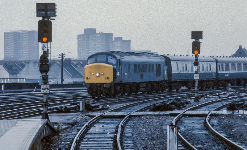 45105 Bristol Temple Meads 13 November 1985