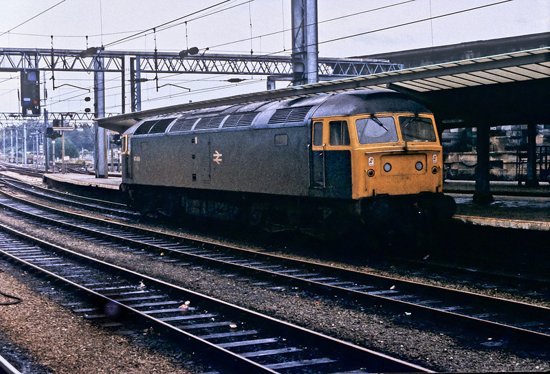 47408 before it was named at Carlisle on 29 October 1982