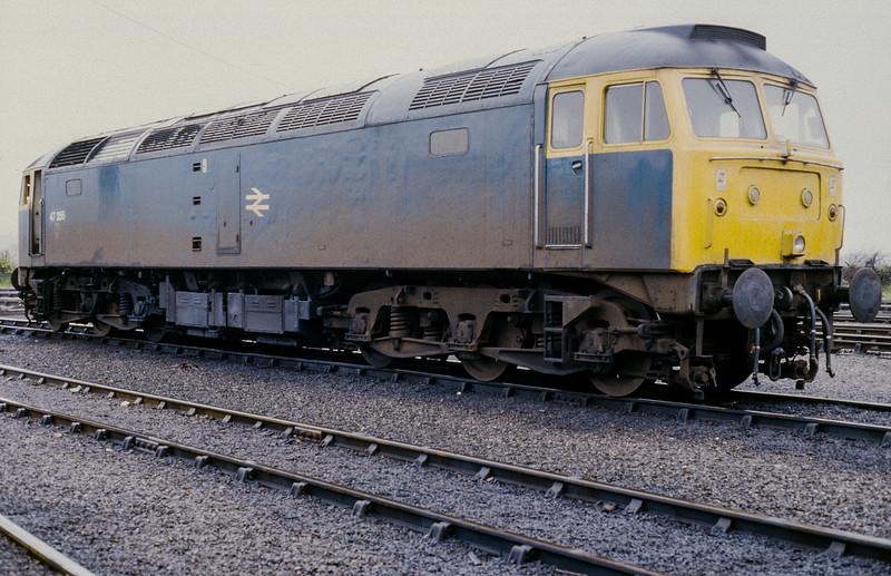 47355 Eastleigh 31 May 1986