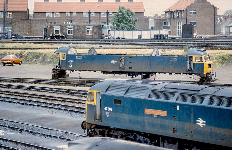 47111 + 47603 Cardiff Canton 10 June 1986