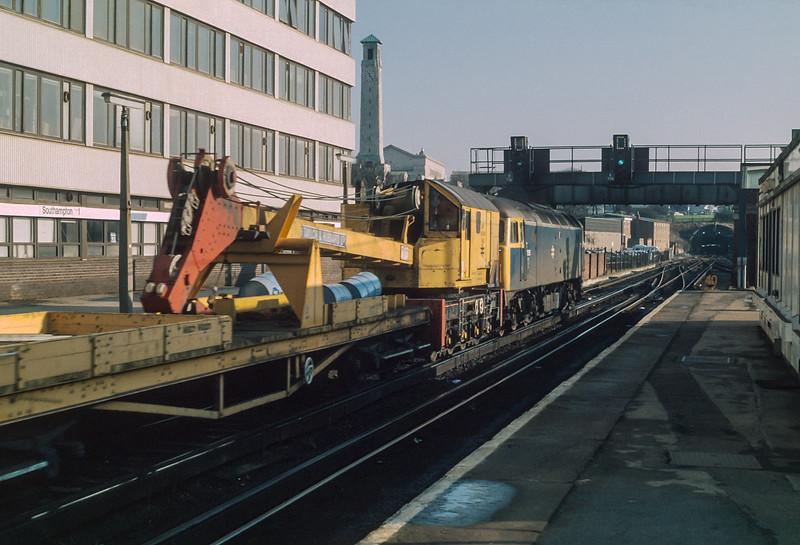 47115 Southampton 6 Janaury 1985