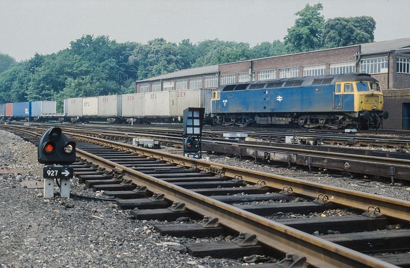 47351 Southampton Central 28 June 1986