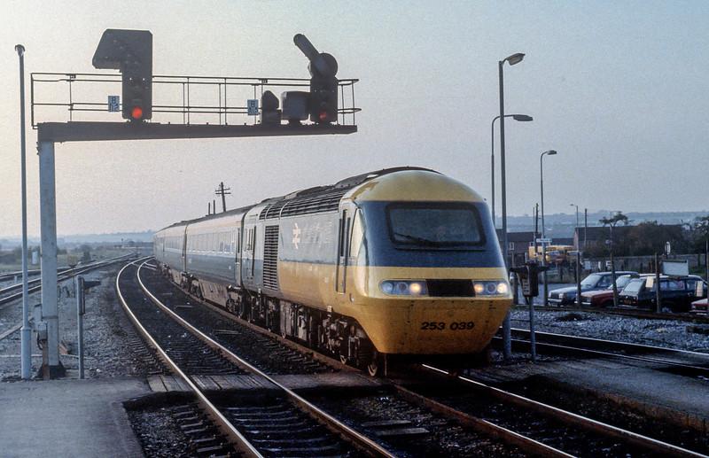 HST set 253039 Bristol Parkway 28 October 1982