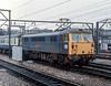 87008 Crewe 29 October 1982