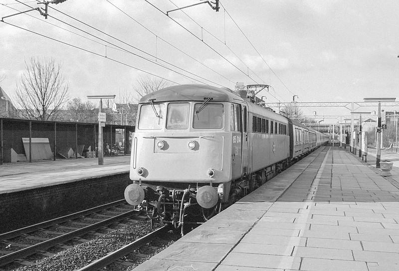 85014 Watford Jn. 20 February 1987