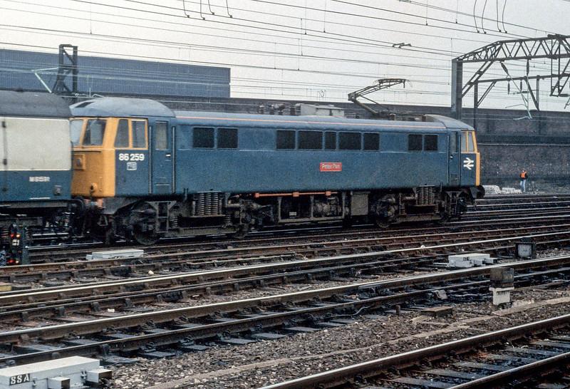 86259 Crewe 29 October 1982