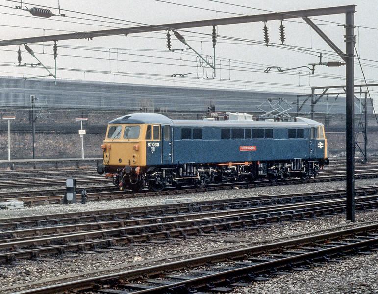 87030 Crewe 29 October 1982