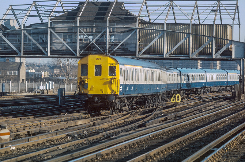 6102 Clapham Junction 20 January 1986