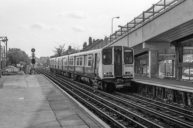 313016 Wembley Central 31 October 1986