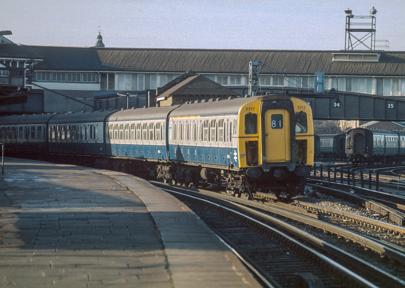 7717 Clapham Junction 20 January 1986