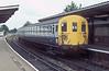 416319 is at Gospel Oak on 4 August 1986