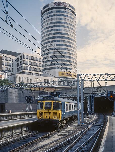 310083 Birmingham New St. August 1987