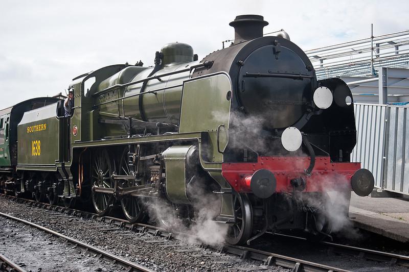 U Class ex-Southern Railway 1638 Bluebell Railway 25 July 2010