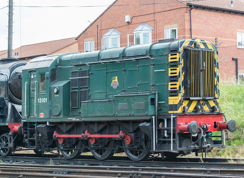 13101 Great Central, Loughborough 16 June 2017