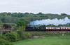 """34046 (running as 34052 """"Lord Dowding"""") Finchdean 15 May 2016"""