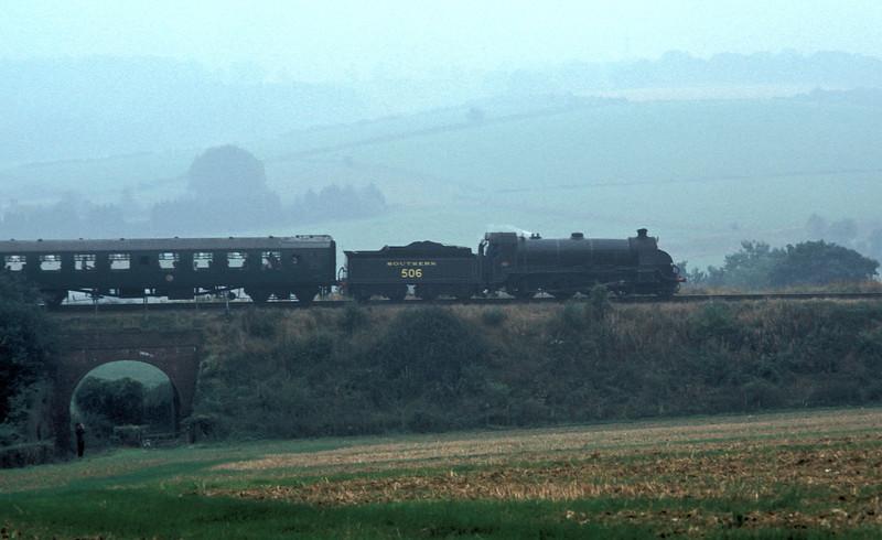Class S15 SR 506 Near Alresford, Mid Hants railway