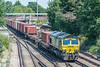 66568 4O14 Garston - Southampton MCT.<br />  St. Denys 31 July 2020