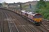 66046 + 66182 St. Denys 16 June 2008