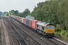 66738 Worting Jn. 16 September 2021 with 4M19 Southampton Western Docks - East Midlands Gateway