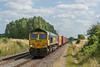 66569 Radley 16 July 2021  Southampton MCT to Lawley St.