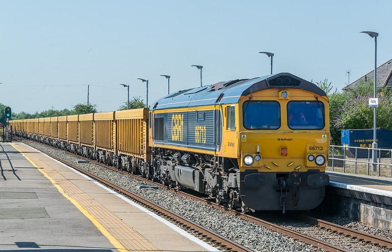 66713 Radley 16 July 2021   6M26 Eastleigh to Mountsorell