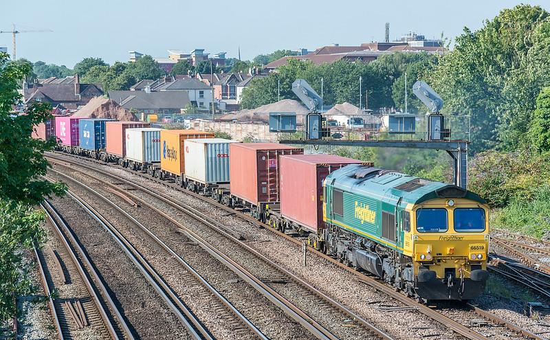 66519 4M55 Southampton MCT - Lawley St. passes St. Denys 31 July 2020