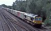 66569 passes Worting Junction with 4M61 to Trafford Park on 20 August 2004