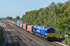 66047 passes Worting Juction with Southampton West Docks to Birch Coppice 17 September 2020