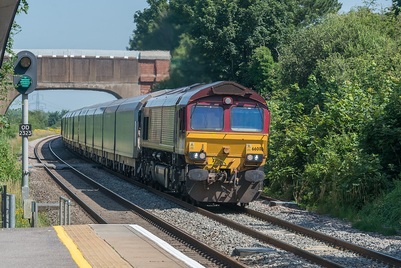 66003 Radley 16 July 2021  4O39  Morris Cowley to Southampton Eastern Docks