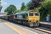 66507 Radley 16 July 2021   6C58 Oxford Banbury Road to Whatley
