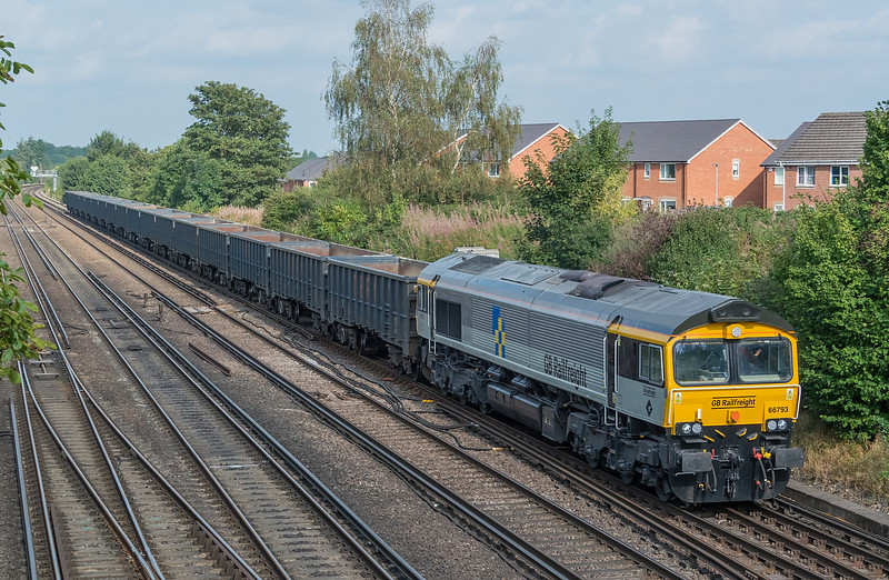 66793 Worting Jn. 16 September 2021 with 4Y19 Mountfield - Southampton Western Docks