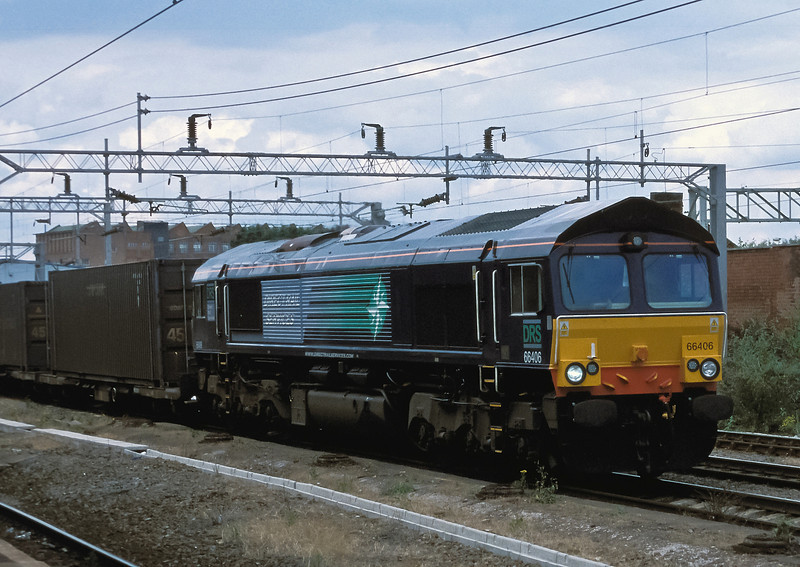 DRS 66406 at Rugby on 9 July 2004