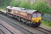 66056 passes through Burton on Trent on 2 June 2012