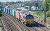 66068 Southampton W Docks - Birch Coppice.<br />  St. Denys 31 July 2020