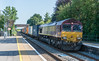 66186 Radley 16 July 2021   4O43 Wakefield Europort to Southampton Western Docks
