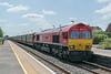66066 Radley 16 July 2021   6M48 Southampton Eastern Docks to Halewood