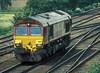 66217 runs light engine through Milford Junction on 6 July 2006