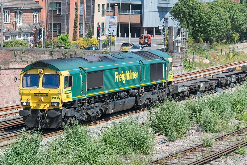 66589 Eastleigh 3 July 2015