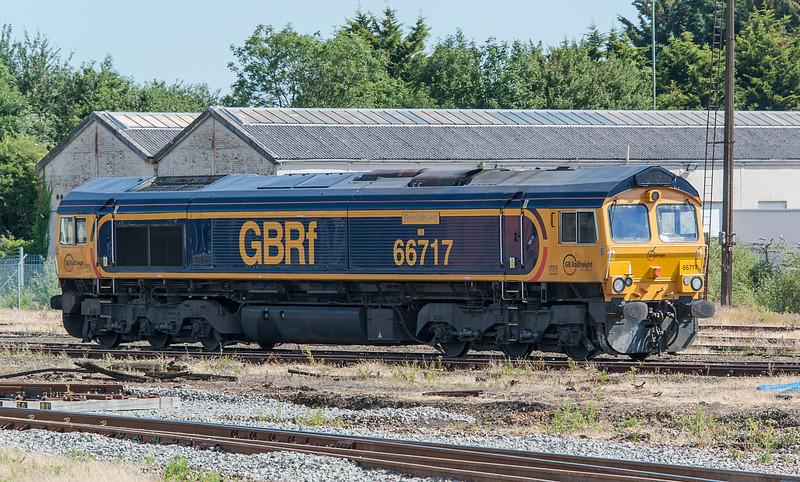 66717 Eastleigh 3 July 2015